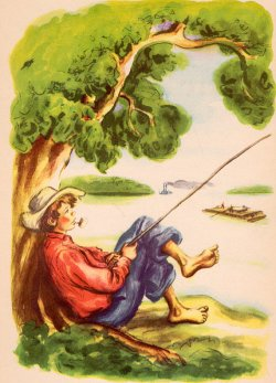 Huckleberry Finn by Donald McKay